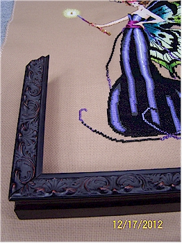 close up of frame for August Fairy