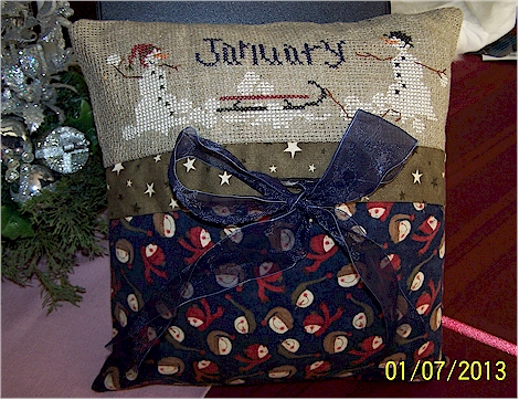 January pillow