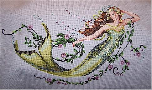 Emerald Mermaid finish