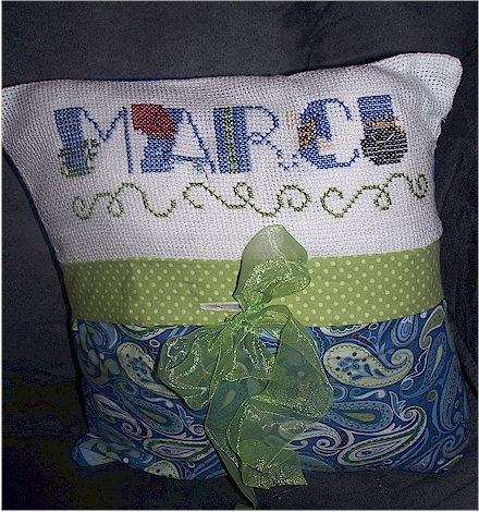 March Pillow
