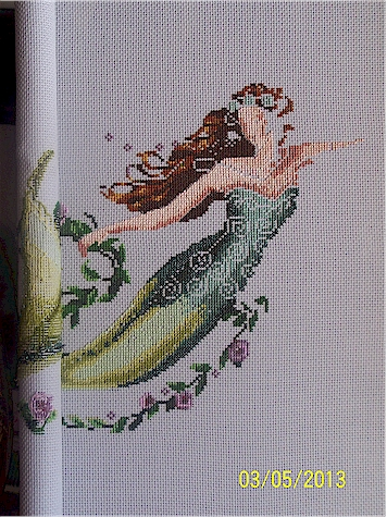 progress on Emerald Mermaid 2