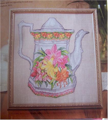 teapot in magazine