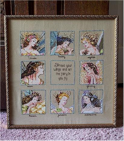 Fairy RR framed
