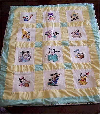 Disney quilt