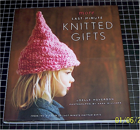 knitting book from Sue