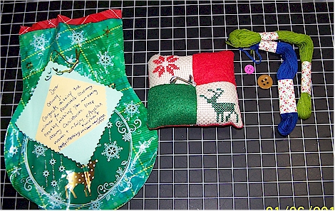 pincushion from Angela