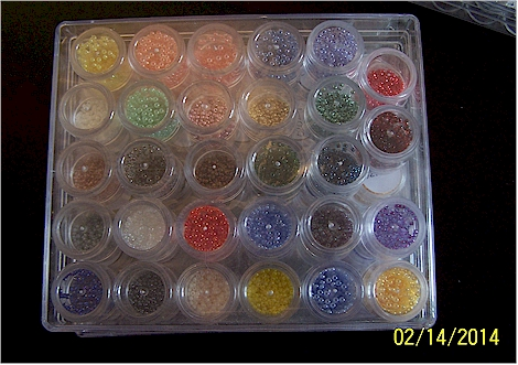 My bead storage 2