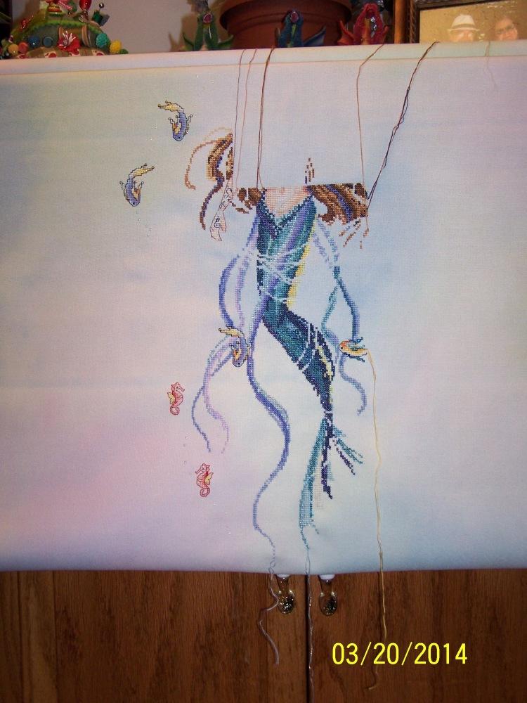 My Mermaid Is Coming Alive...