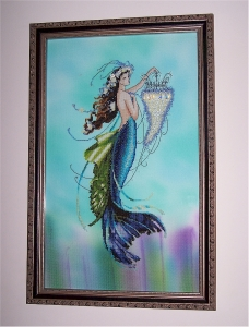 Siren and the Shipwreck Framed