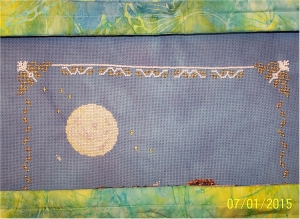 beading on Under the Moonlight