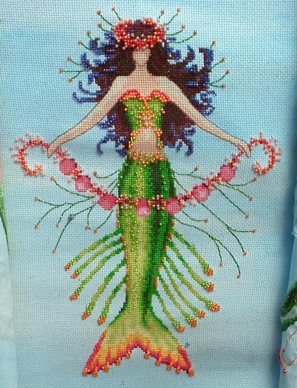 Mermaid Coral Charms is AllBeaded