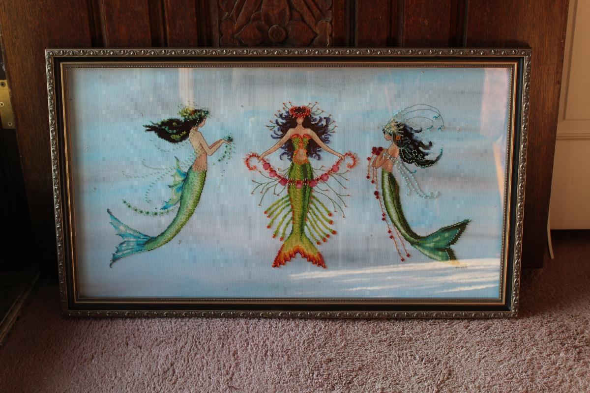 Mermaid Trio back from theFramer!
