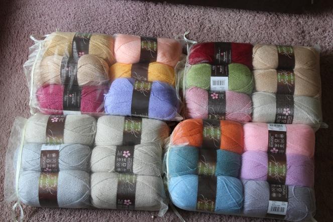 New Fabric and Yarn Stash – My Time Stitching