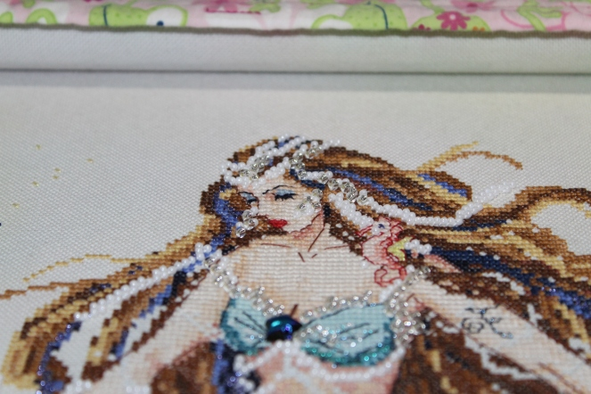 beaded-face-of-mermaid