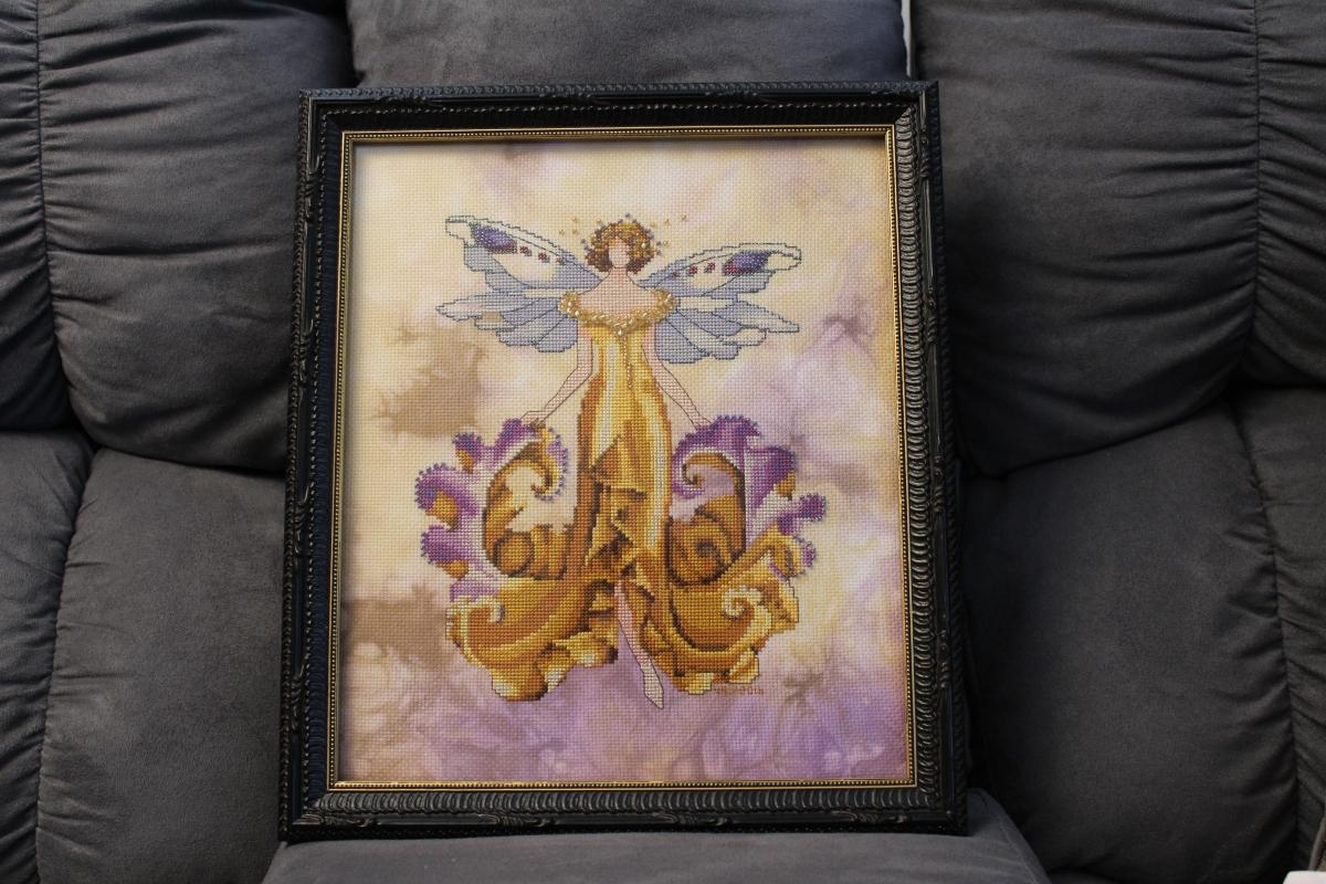 Iris Framed and a New SamplerStart
