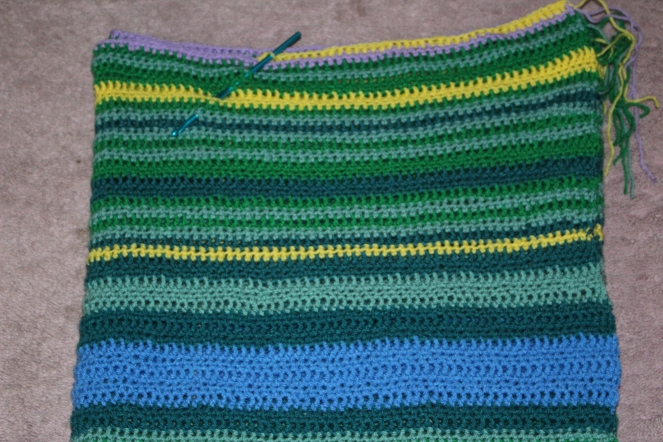 Temperature blanket progress 2