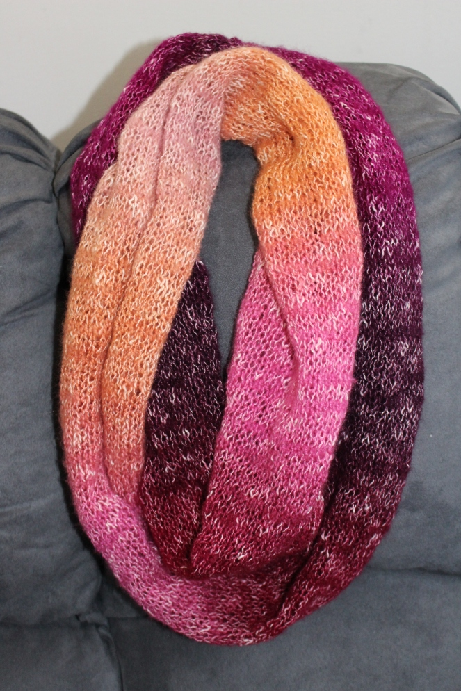 One ball shawl