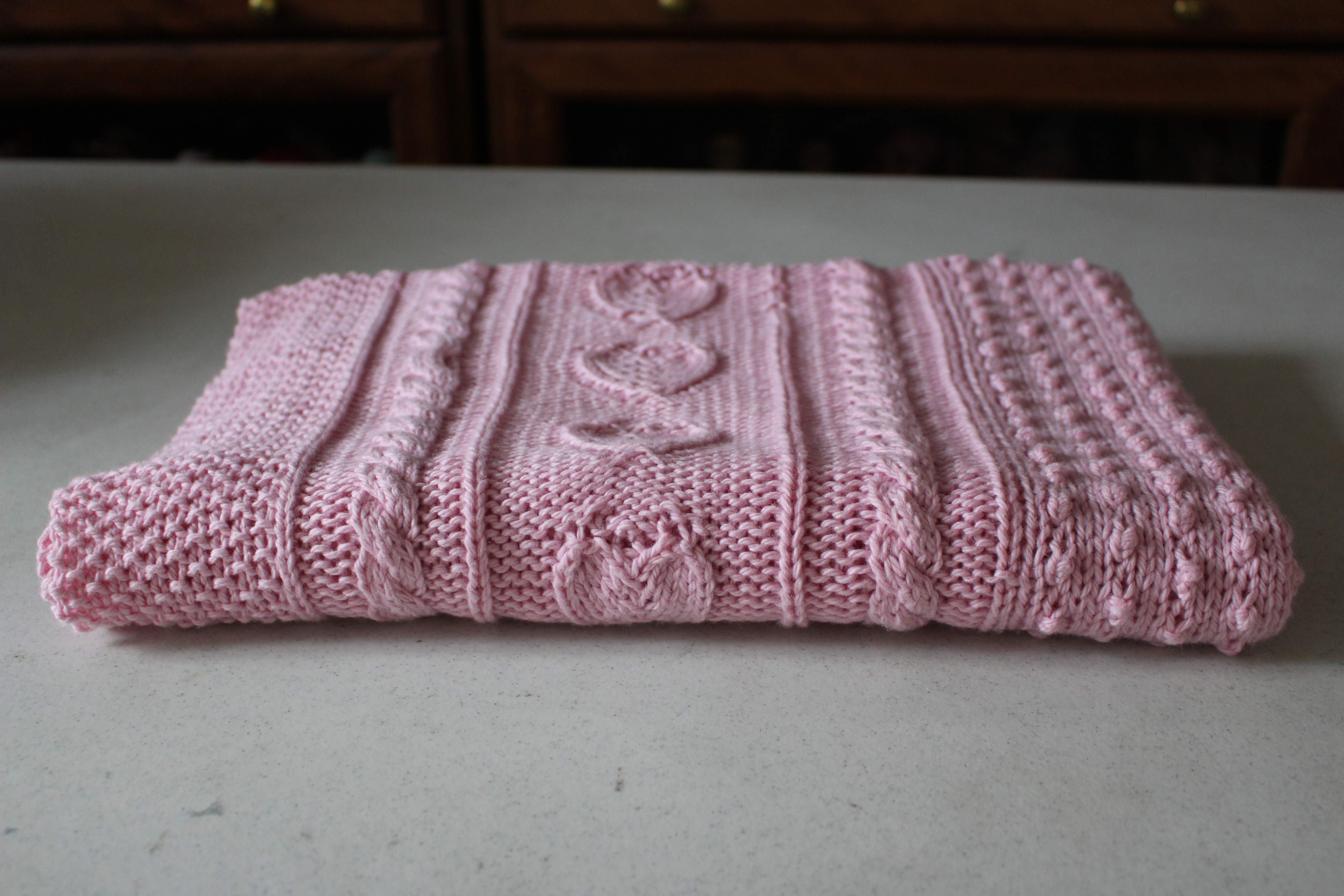 knitted baby blanket 3