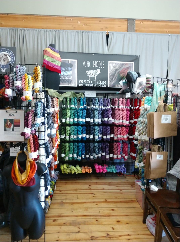 AJHC yarn booth