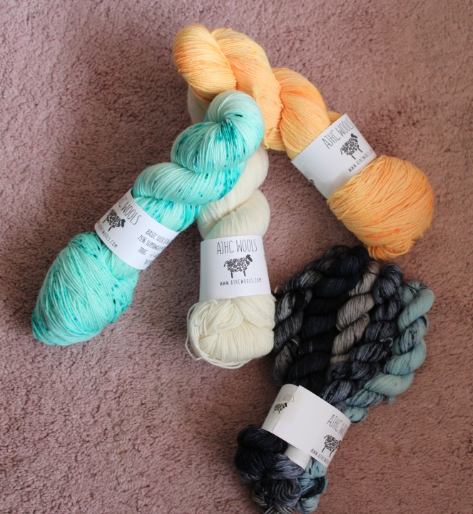 Yarn stash from winery