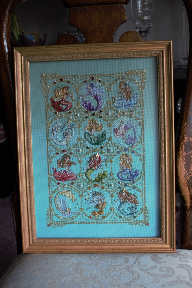 Treasures of the Deep framed