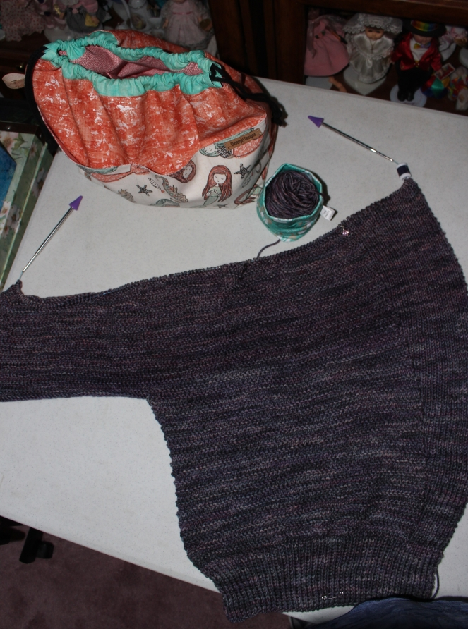 Veronika cardigan start