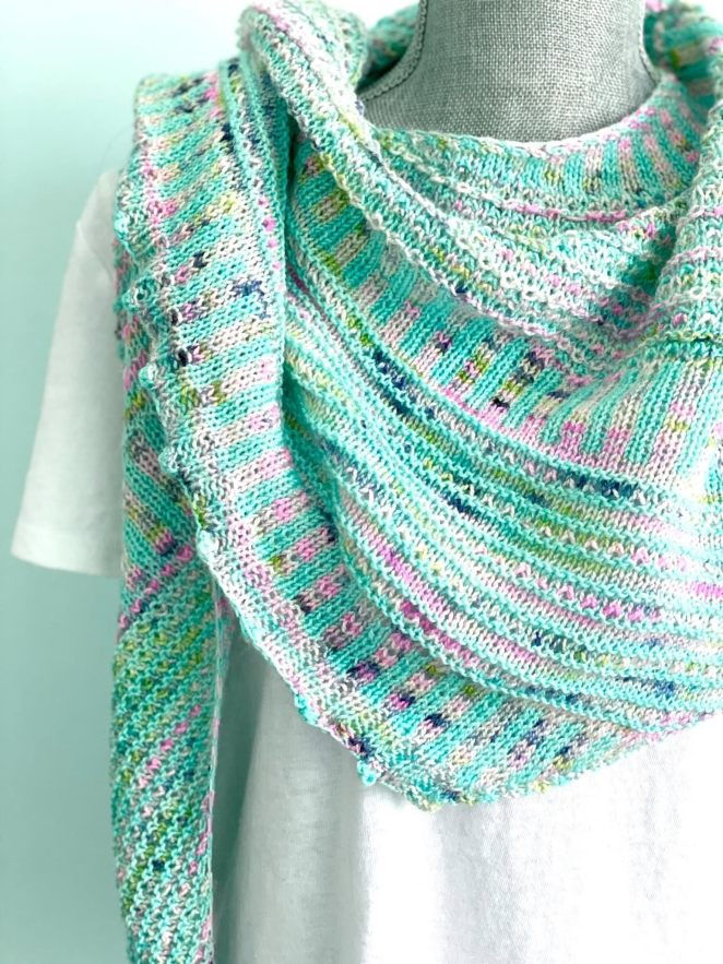breathe and hope shawl by casapinka