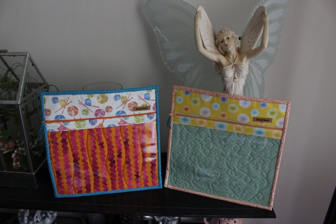 March and April project bags fronts